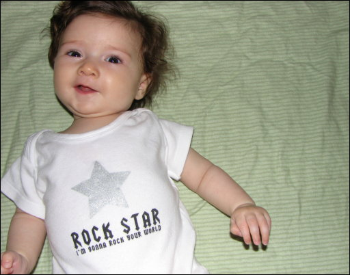 Adriana the Rock Star
