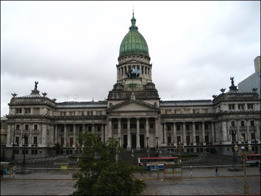 Photo of el Palacio del Congreso