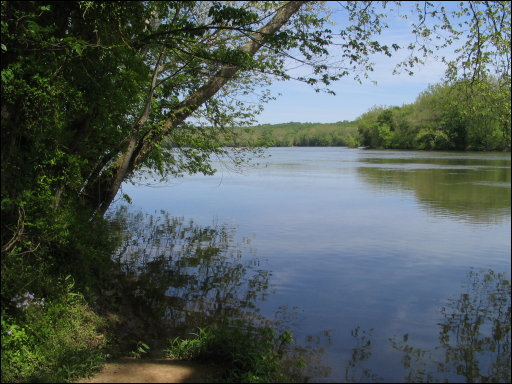 view of the Potomac near River Bend Park