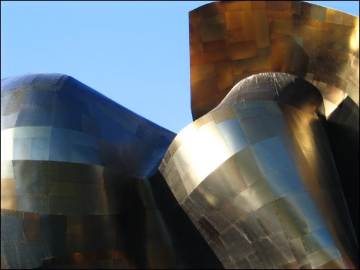 Close up of one side of the EMP